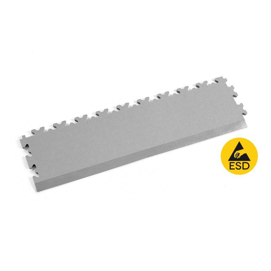 Šedý vinylový nájezd Fortelock Industry ESD 2025 (kůže) - délka 51 cm, šířka 14,5 cm a výška 0,7 cm
