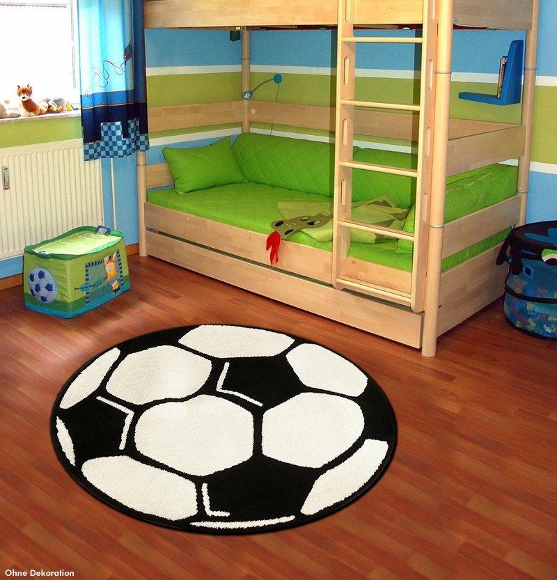 Dětský moderní kusový kulatý koberec Prime Pile - průměr 150 cm