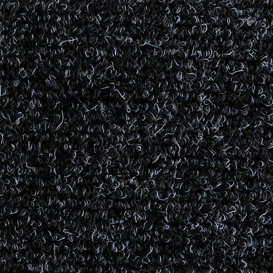 Gumová hliníková kartáčová venkovní vstupní rohož Alu Extra, FLOMAT, 03 - délka 100 cm, šířka 100 cm a výška 2,7 cm