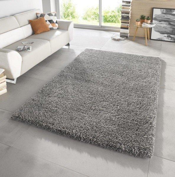 Šedý kusový koberec Venice - délka 170 cm a šířka 120 cm