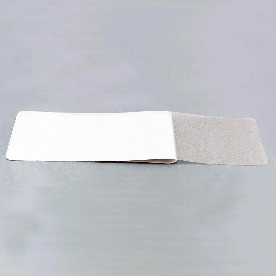Čirá vinylová průhledná protiskluzová páska (pás) - délka 61 cm a šířka 15,2 cm