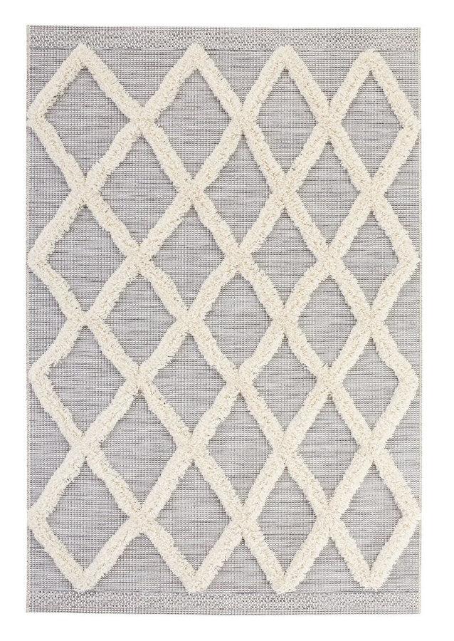 Šedý kusový moderní koberec Mint Rugs, Handira