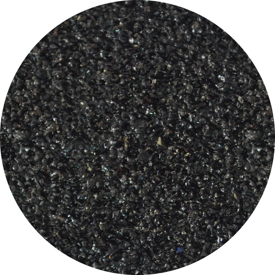 Černá korundová protiskluzová schodová hrana Hard - délka 100 cm, šířka 6,5 cm a tloušťka 4 mm