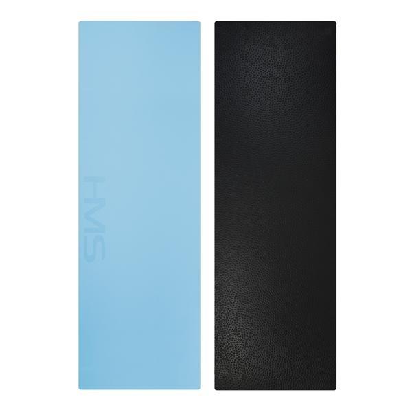 Modrá podložka na jógu YM06 - délka 180 cm, šířka 60 cm a výška 0,8 cm