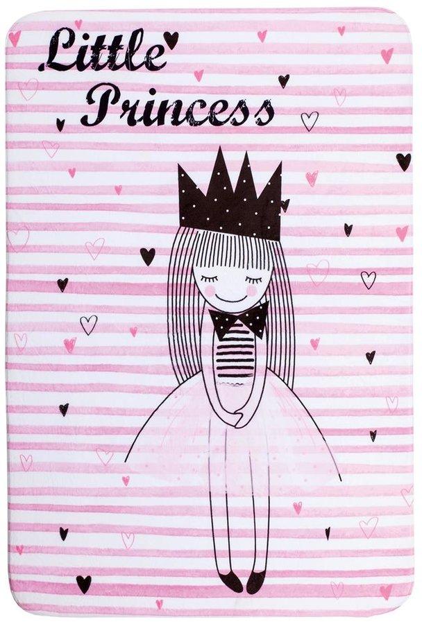 Růžový kusový dětský hrací koberec Fairy Tale - délka 150 cm a šířka 100 cm