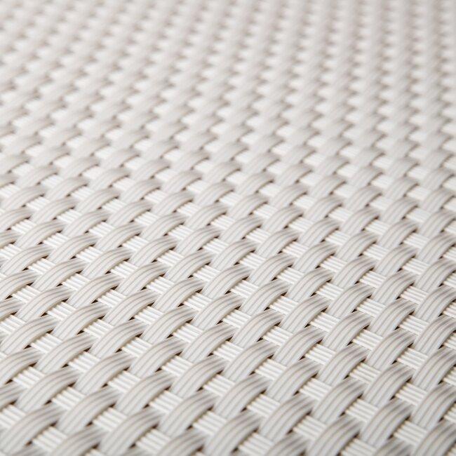 """Bílá plastová ratanová stínící rohož """"umělý ratan"""" - délka 300 cm a výška 90 cm"""