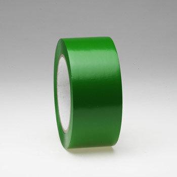 Zelená podlahová vyznačovací páska - délka 33 m a šířka 5 cm