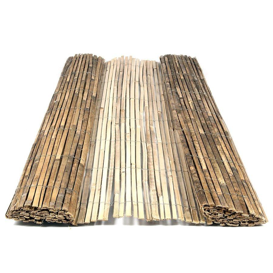 """Bambusová stínící rohož """"štípaný bambus lakovaný"""" - délka 300 cm a výška 150 cm"""