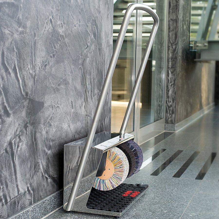 Stříbrný čistič bot Heute Polifix 2 plus