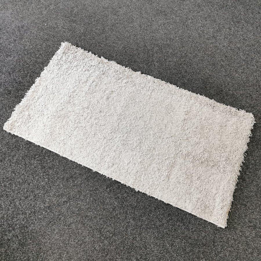 Šedý kusový koberec Shaggy - délka 150 cm a šířka 80 cm