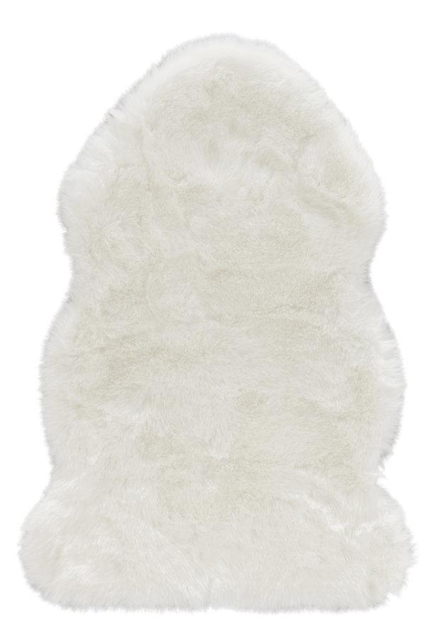 Bílý kusový koberec Superior - délka 170 cm a šířka 120 cm