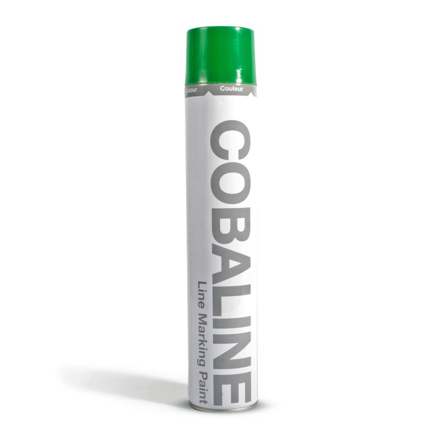 Zelená rychleschnoucí permanentní barva ve spreji - objem 750 ml