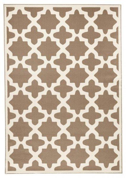 Šedý moderní kusový koberec Capri - délka 140 cm a šířka 70 cm