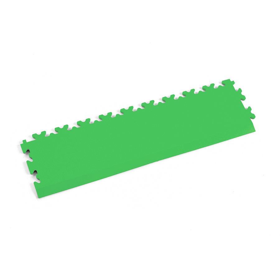 Zelený vinylový plastový nájezd 2025 (kůže), Fortelock - délka 51 cm, šířka 14 cm a výška 0,7 cm