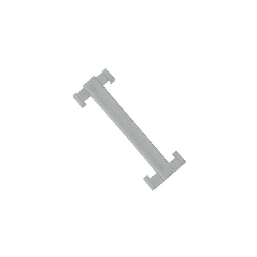 Bílá plastová spojka pro rohože Soft-Step - délka 4,5 cm a šířka 1,5 cm - 10 ks