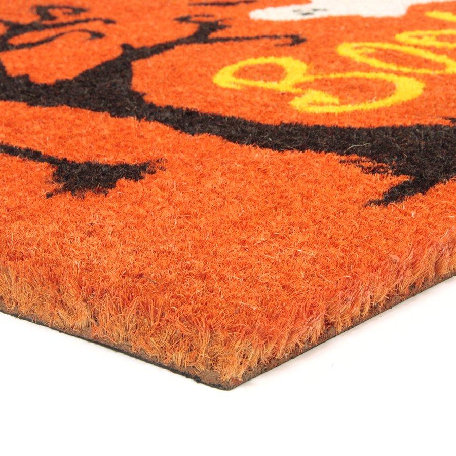 Kokosová vstupní venkovní čistící rohož Scary House, FLOMA - délka 45 cm, šířka 75 cm a výška 1,7 cm