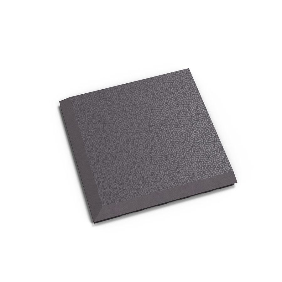 "Šedý vinylový plastový rohový nájezd ""typ C"" Invisible Eco 2038 (hadí kůže), Fortelock - délka 14,5 cm, šířka 14,5 cm a výška 0,67 cm"