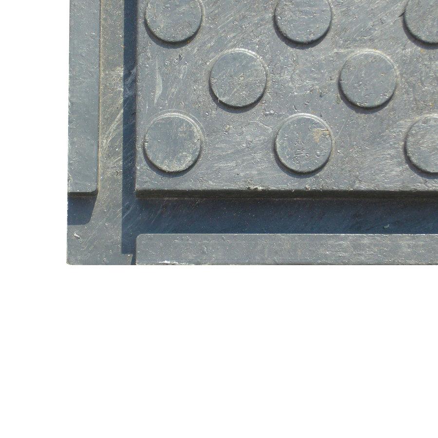 Plastová zátěžová podlahová deska - délka 80 cm, šířka 60 cm a výška 4,3 cm