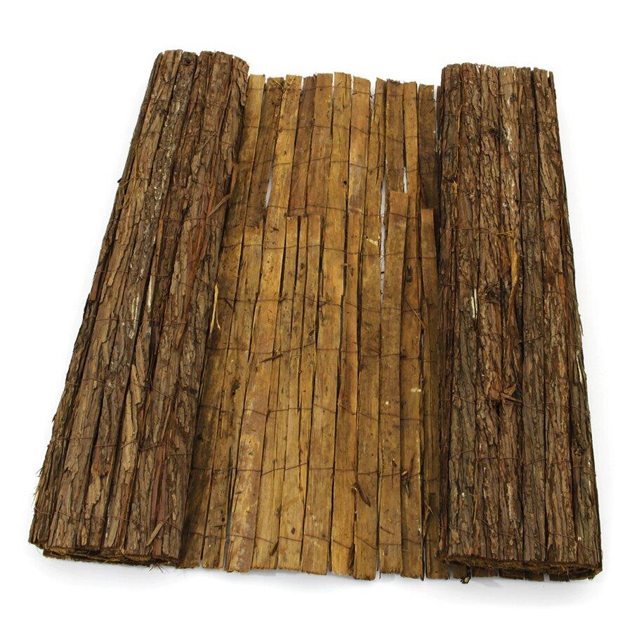 """Stínící rohož """"kůra jedle"""" - délka 300 cm a výška 100 cm"""