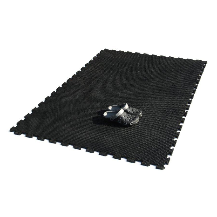 Gumová podlahová zátěžová rohož Safety Stance, FLOMA - délka 180 cm, šířka 120 cm a výška 2 cm