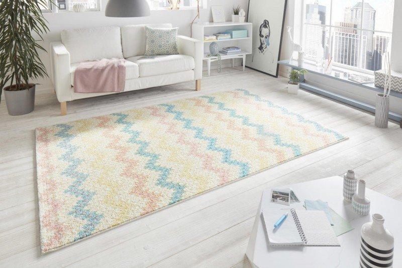 Různobarevný kusový koberec Madison