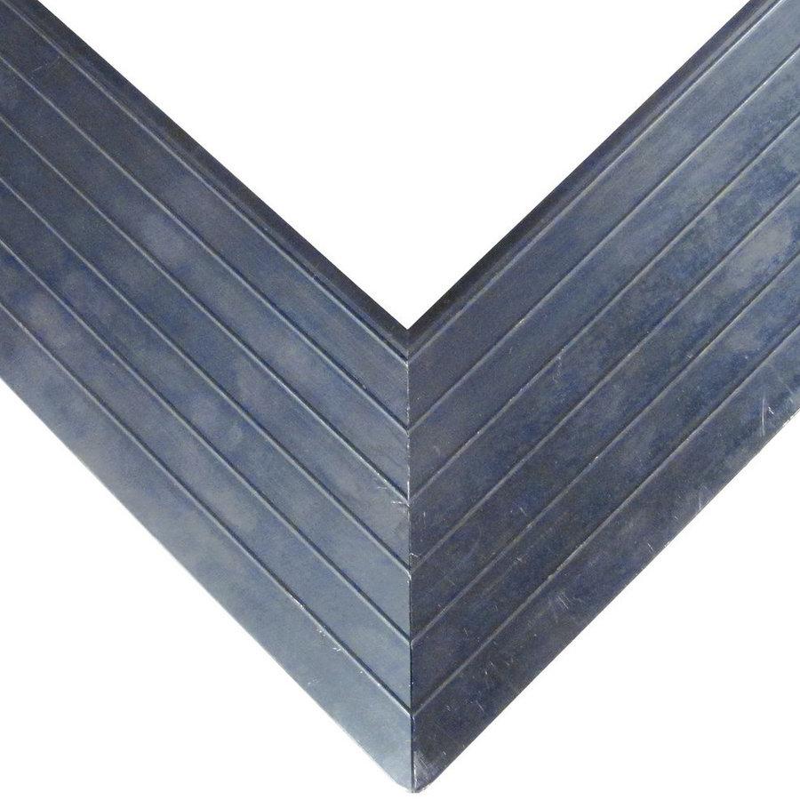 Hliníkový náběhový rám pro vstupní rohože a čistící zóny FLOMA - délka 1 cm, šířka 6,5 cm a výška 1,6 cm