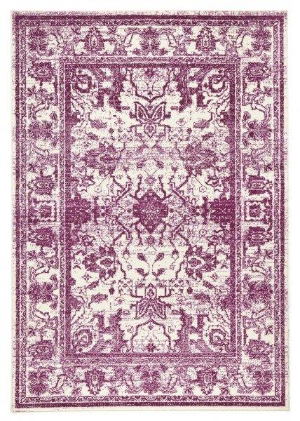 Červený kusový koberec Capri - délka 140 cm a šířka 70 cm