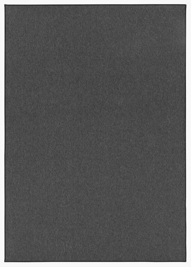 Antracitový kusový koberec Casual
