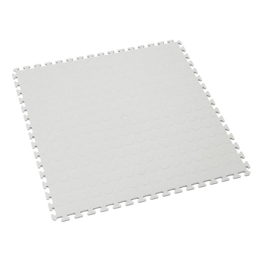 Šedá plastová zátěžová puzzle dlaždice Tenax - délka 50 cm, šířka 50 cm a výška 0,5 cm