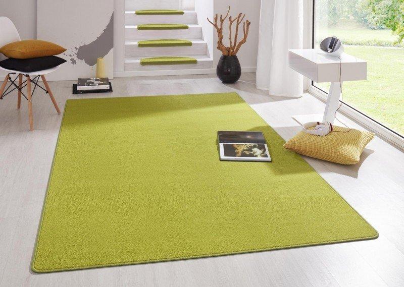 Zelený kusový koberec Fancy - délka 195 cm a šířka 133 cm