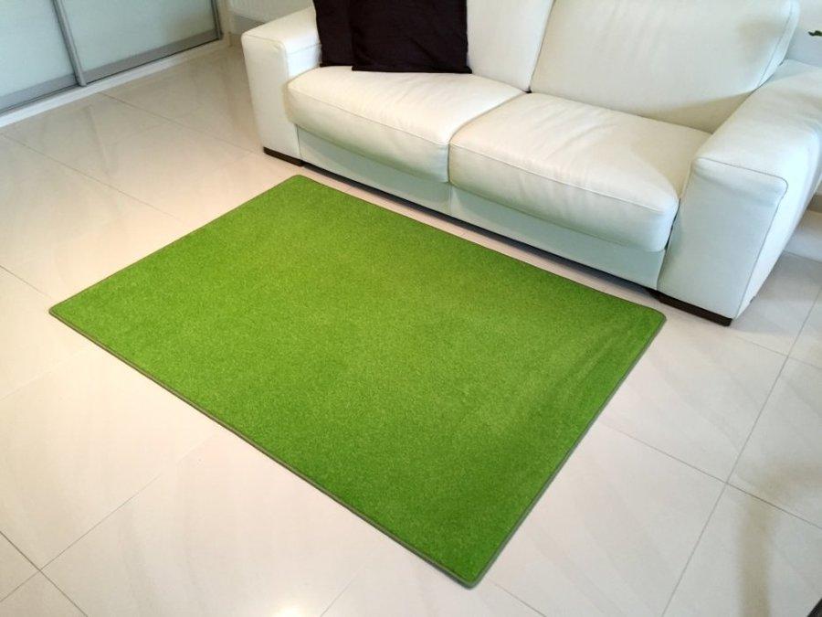 Zelený kusový koberec Eton - délka 80 cm a šířka 50 cm