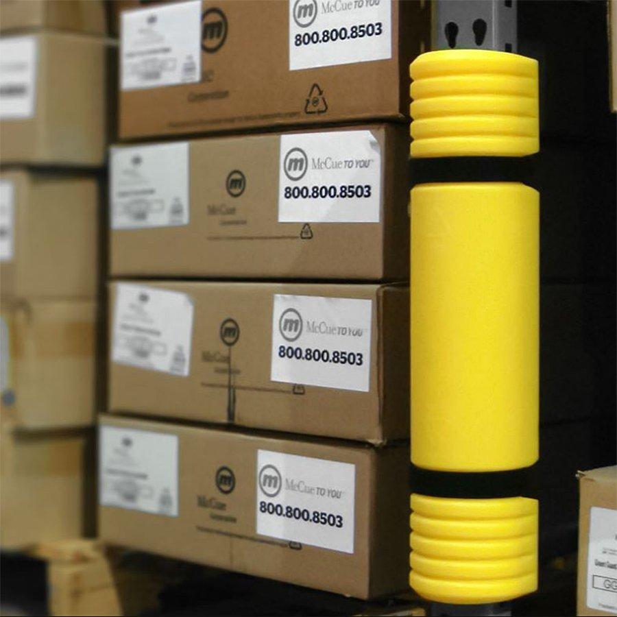 Žlutý nárazový ochranný pás McCue - šířka 60-85 mm a výška 55 cm