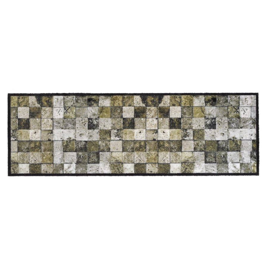 Vnitřní čistící pratelná vstupní rohož FLOMA Prestige Tiles - délka 50 cm a šířka 150 cm