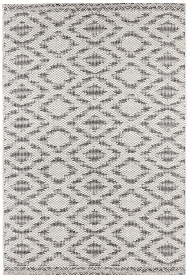 Šedý moderní kusový koberec Botany - délka 280 cm a šířka 180 cm