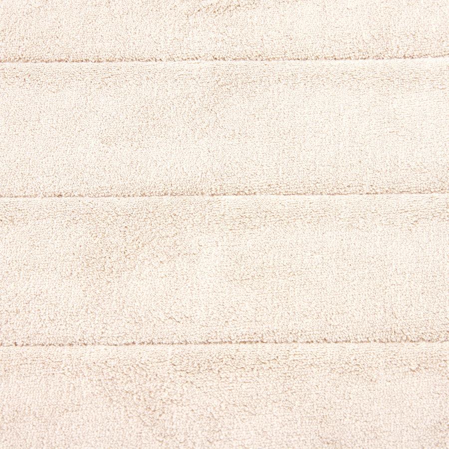 Béžová koupelnová pěnová předložka 02 - délka 85 cm a šířka 53 cm