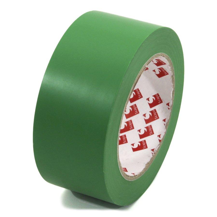 Zelená vyznačovací páska Super - délka 33 m a šířka 5 cm