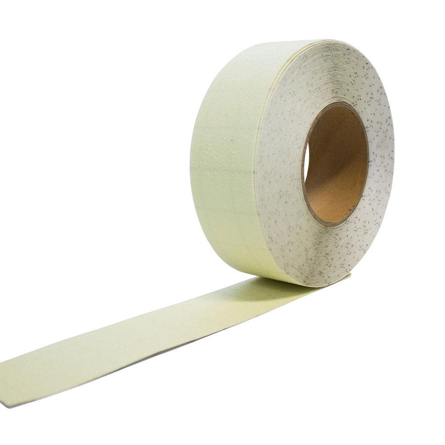 Korundová protiskluzová fotoluminiscenční páska - délka 18,3 m a šířka 5 cm