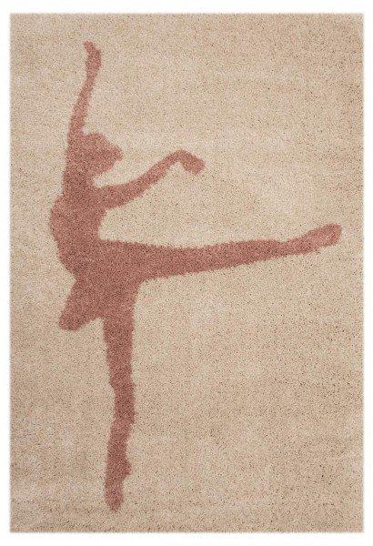 Béžový kusový koberec Vini - délka 170 cm a šířka 120 cm