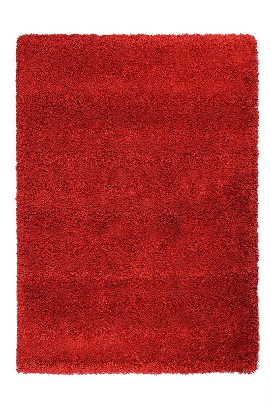 Červený kusový koberec Fusion - délka 110 cm a šířka 60 cm