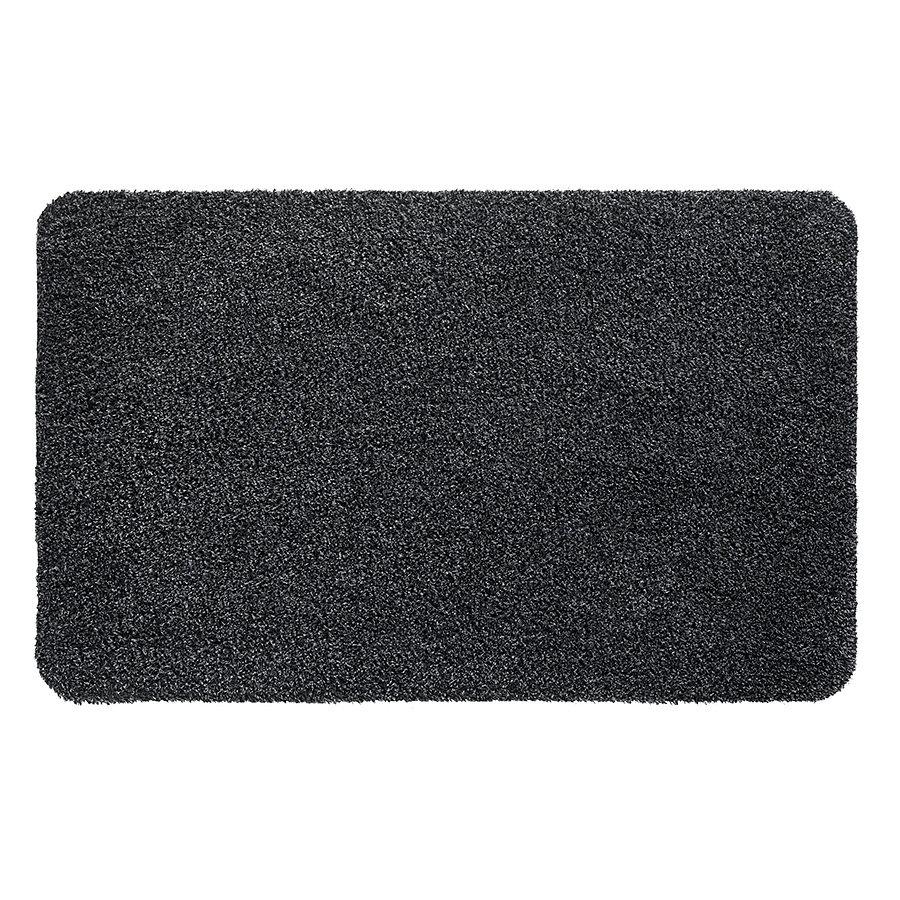 Antracitová čistící vnitřní vstupní pratelná rohož Natuflex, FLOMA - výška 0,6 cm
