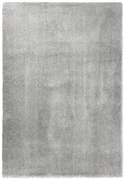 Šedý kusový koberec Glam - délka 170 cm a šířka 120 cm