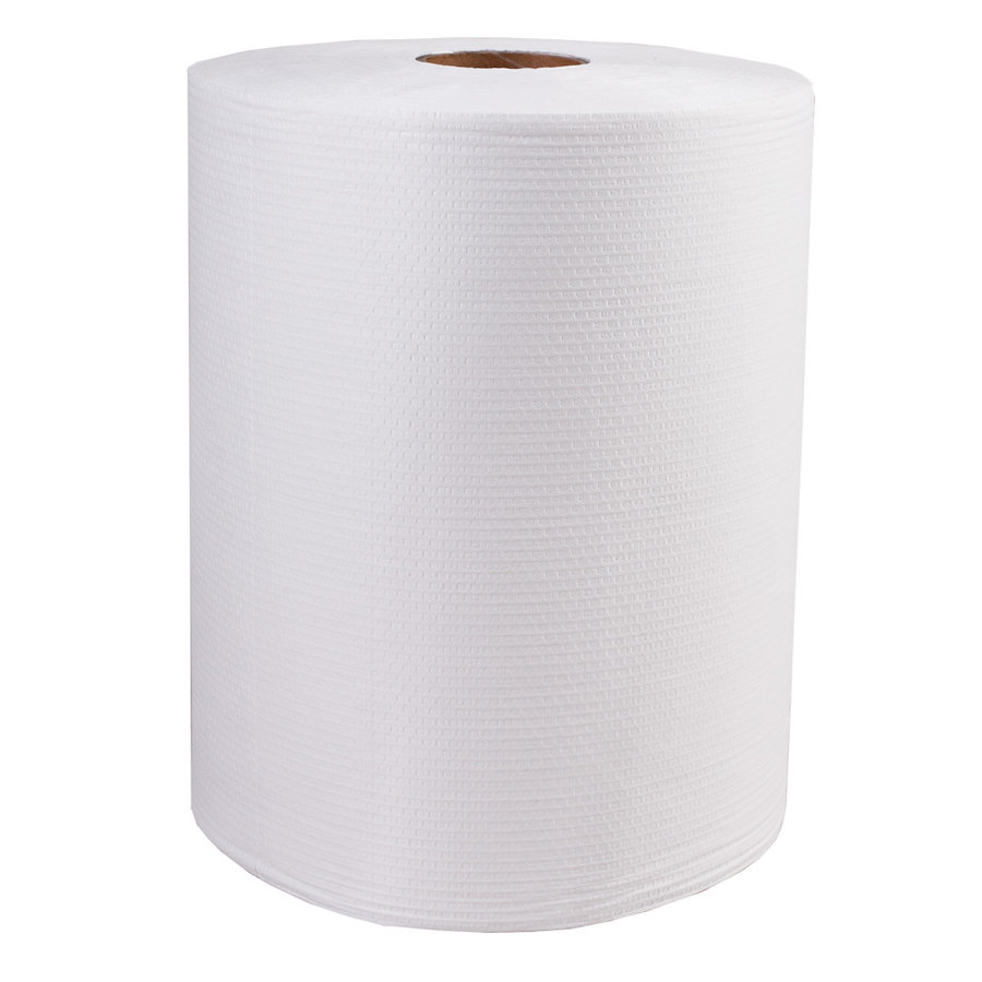 Netkaná průmyslová čistící utěrka - délka 38 cm a šířka 34 cm - 750 útržků