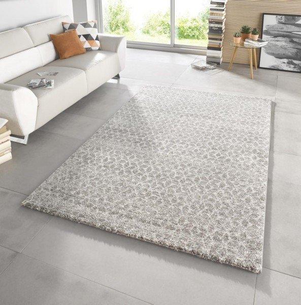 Hnědý kusový moderní koberec Stella