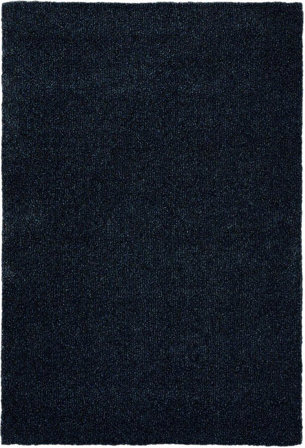 Modrý kusový koberec Lana - délka 200 cm a šířka 135 cm