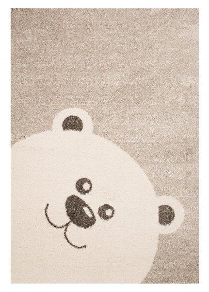 Béžový dětský kusový koberec Vini - délka 170 cm a šířka 120 cm