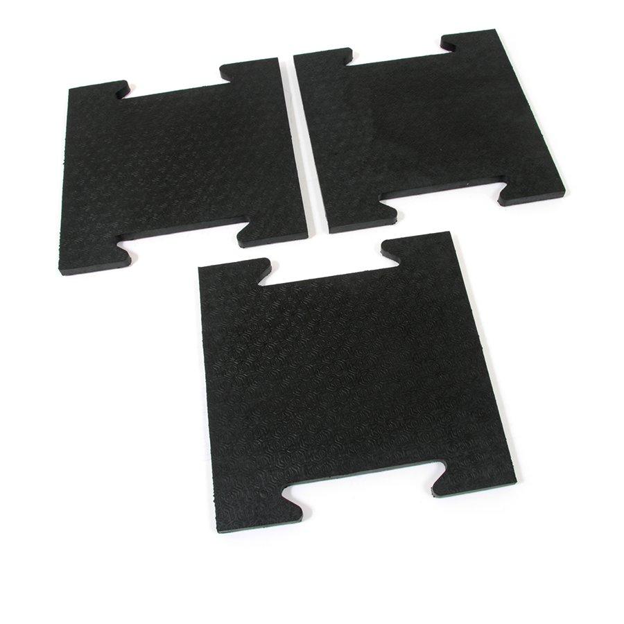 Gumová zátěžová modulová rohož FLOMA Horse Tile - délka 39 cm, šířka 39 cm a výška 2,5 cm