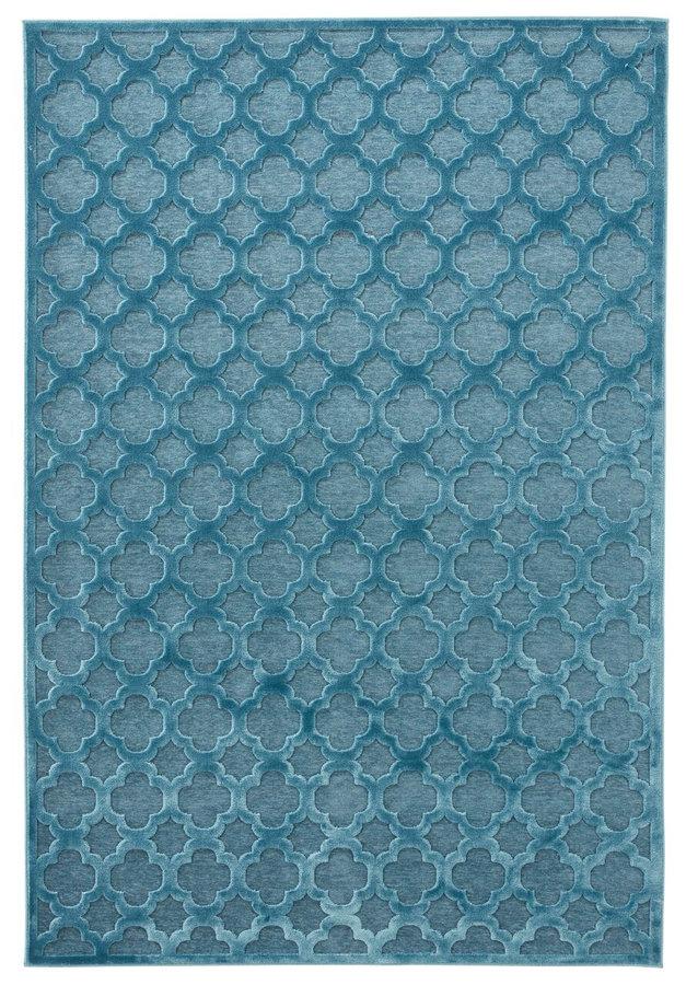 Modrý moderní kusový koberec Bryon, Mint Rugs - délka 300 cm a šířka 200 cm