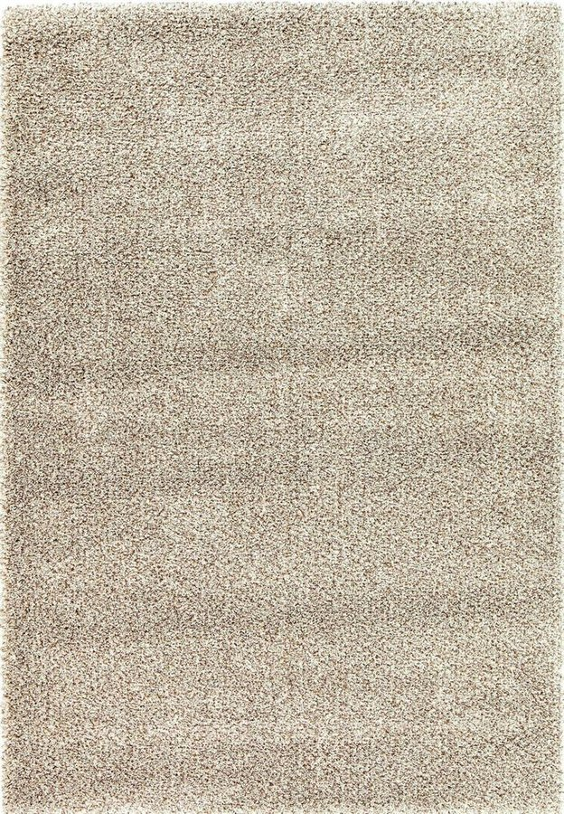 Béžový kusový koberec Lana