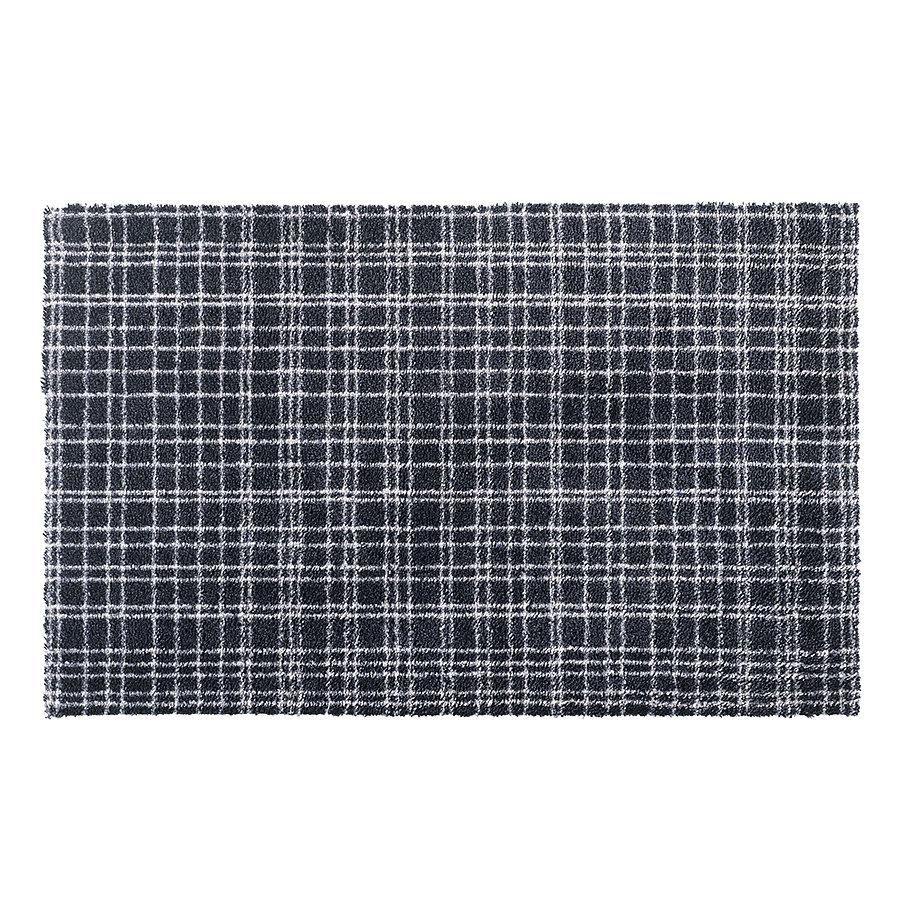 Šedá metrážová čistící vnitřní vstupní pratelná rohož Fusion Dry - délka 1 cm