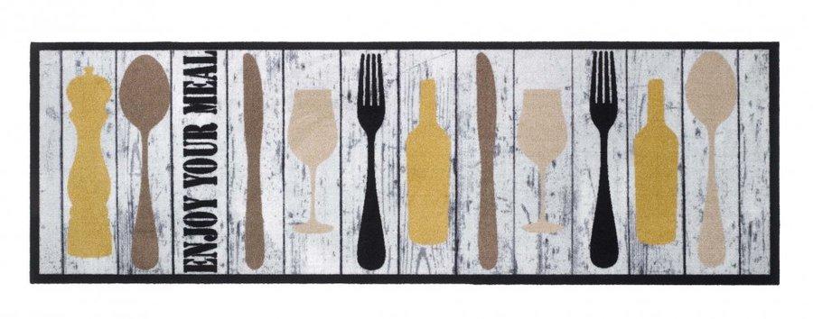 Různobarevná kuchyňská předložka - délka 150 cm a šířka 50 cm